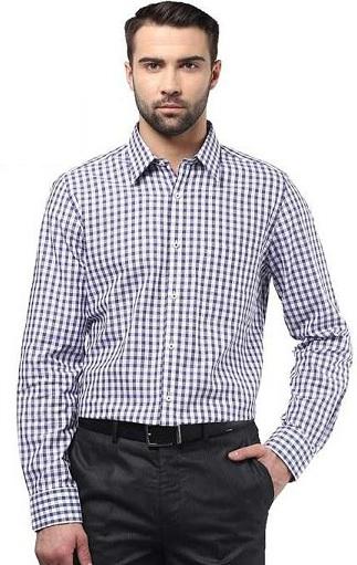 Checked Formal Full sleeve Shirt