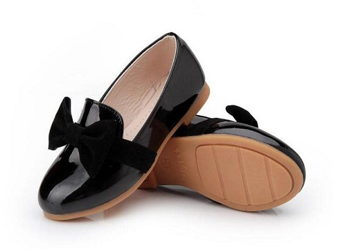 Ballerina style school shoes