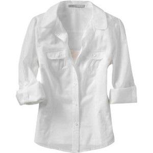Classic Cotton White Shirt