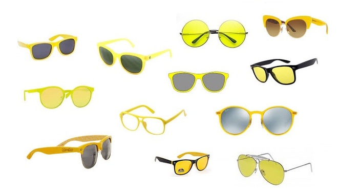 Classic Styles of Yellow Sunglasses for Men and Women