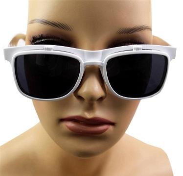 Clear Lens Flip Up Sunglasses