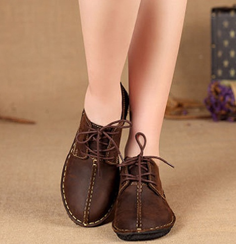 Coffee Brown Oxford shoes for Women