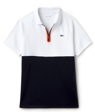 Color block polo shirts