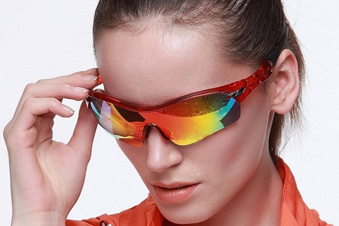 Colorful Shades Sporty Women Sunglasses