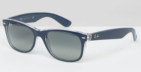 Cool Blue Ray-Ban Wayfarers for Men