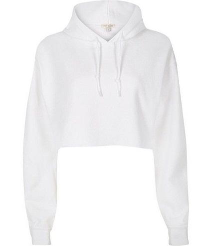 Crop Top Women Sweatshirts