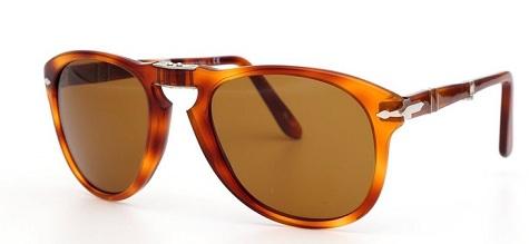 Crystal Brown Lens Folding Sunglasses for Men
