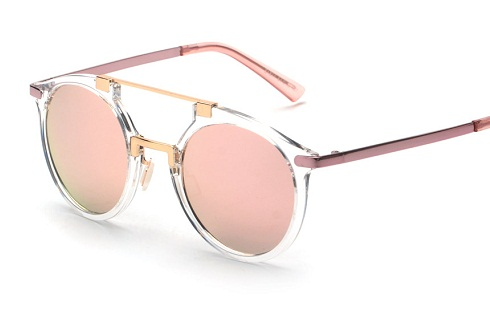 Crystal Frame Sunglasses -4