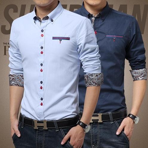 Cuffled Designed Shirts