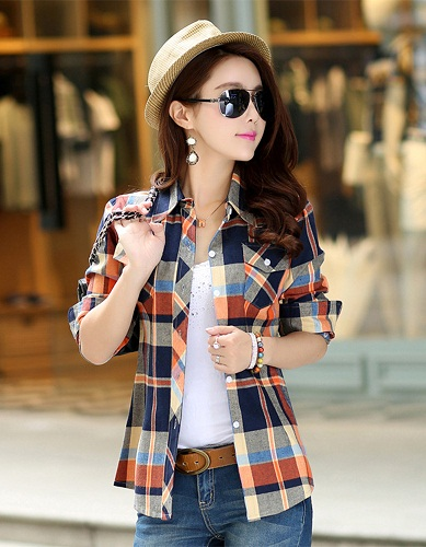 Daily Wear Block Printed Shirts for Women