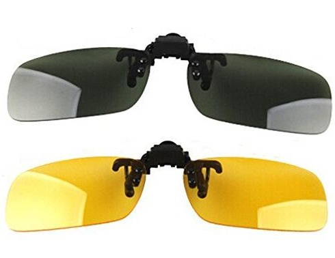 Day-Night vision Clip On Sunglasses