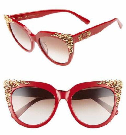 Decorative Red Sunglass