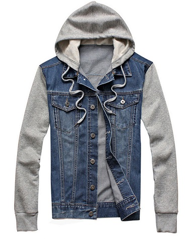 Denim Men's Winter sweatshirt