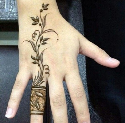 10 Latest Ring Mehndi Designs In 2017  Styles At Life