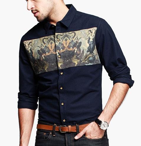 Designer Shirt with Photo Print