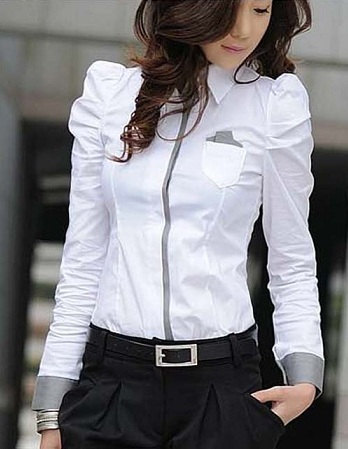 Designer White Shirt