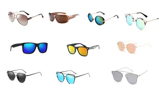 Different Types of Coloured Sunglasses in Trend 2017