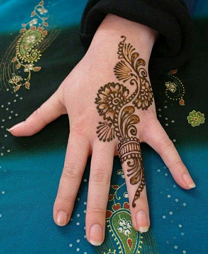 ring mehndi designs