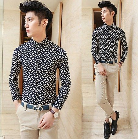 Fancy Slim Fit Printed Shirts for Men