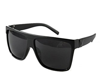 Fashionable Black Plastic Sunglasses A246