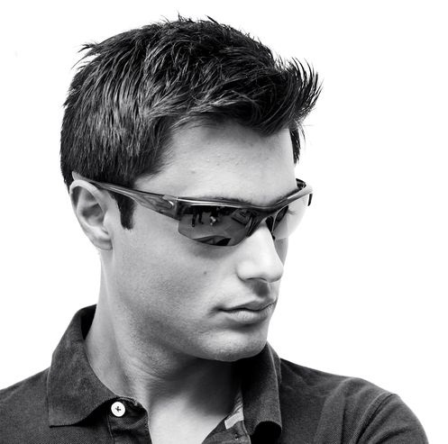 Fashionable Men's Black Sunglasses
