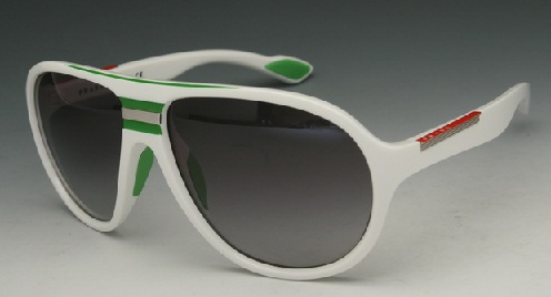 Fashionable White Frame Sunglass