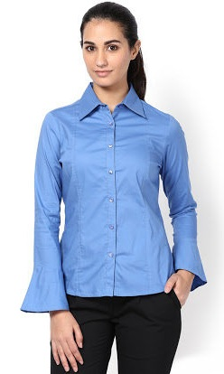 Flair sleeves formal shirt