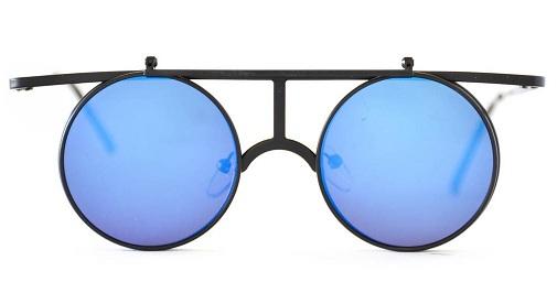 Flat Top Frame Flip up Sunglasses for Girls