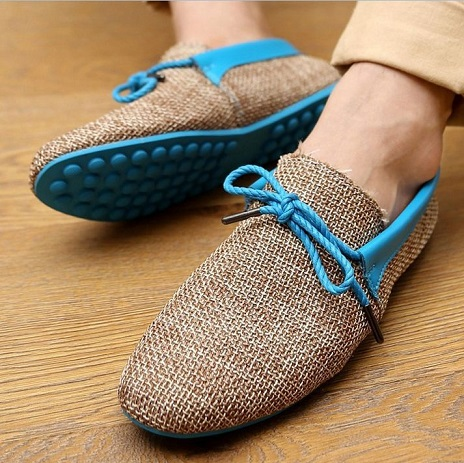 Flat soft men's summer Shoes