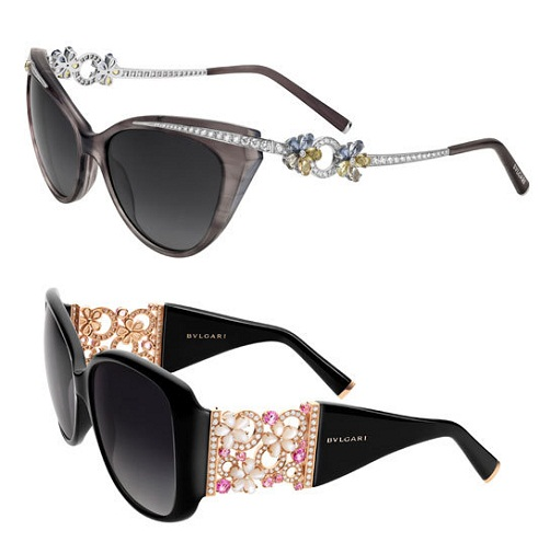 Floral Framed Sunglasses