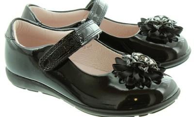 Flower Studded Hair Clips Shoe for Girls