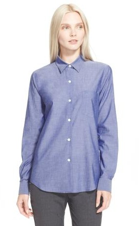 Formal Cotton Button Up Shirts for Women
