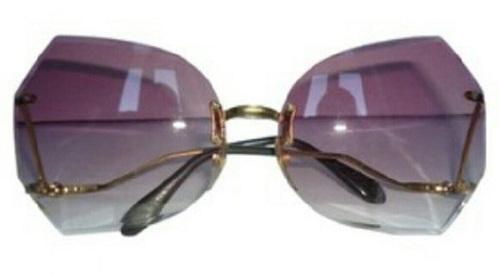 Frame less Retro Sunglasses