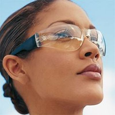 Frameless women sports sunglasses