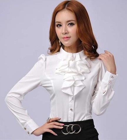 Frill formal shirt