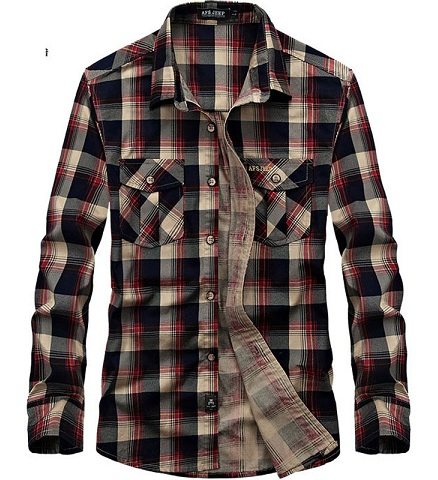 Full Sleeve Plaid Shirt