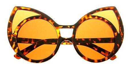 Funky Oversized Cat Eye Sunglasses for Women