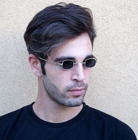 Funky Steel Retro Sunglasses