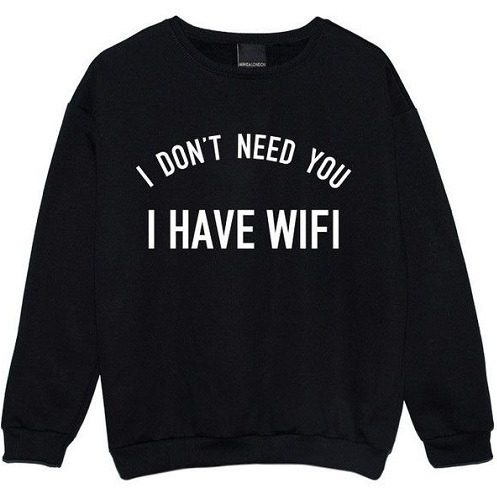 Funny graphic unisexWinter sweatshirt