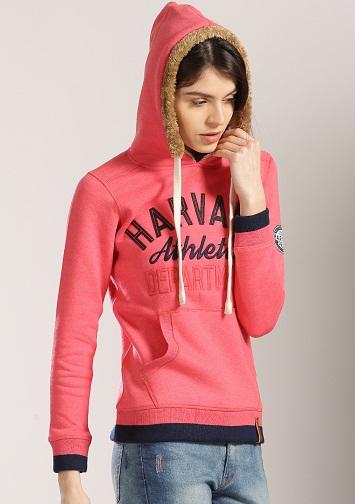 Fur lined Women's Sweatshirt