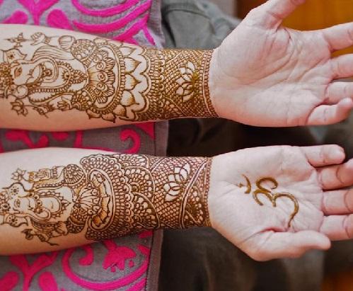 Ganesh Mehndi Design
