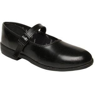 Normal black school shoes
