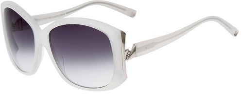 Girls Choice White Sunglass