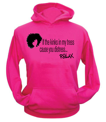 Girly relax sweatshirt hoodie for women