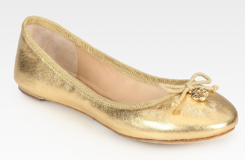 Golden Ballerinas for Women