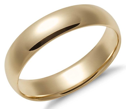 Gold Wedding Rings