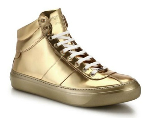 Golden Sneakers for Men