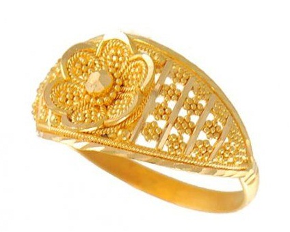 Golden Wedding Rings for Women