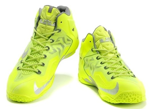 Green Basketball Men Shoes -5