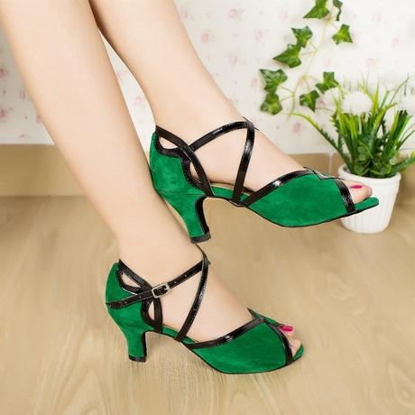 Green Dancing women Shoes